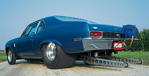 Chevy Nova hot rod. Milk, meat, toys or hot rods